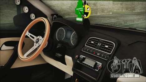 Volkswagen Polo 1.2 TSI para GTA San Andreas vista direita