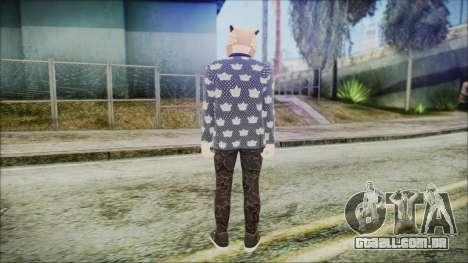 GTA Online Skin 58 para GTA San Andreas terceira tela