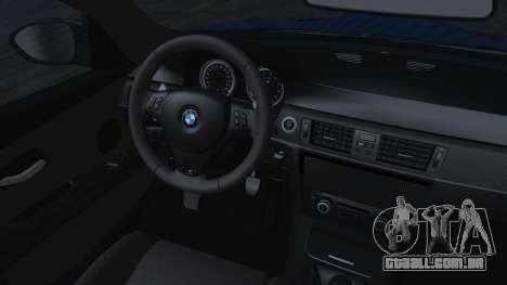 BMW M3 GTS 2011 HQLM para GTA San Andreas vista direita