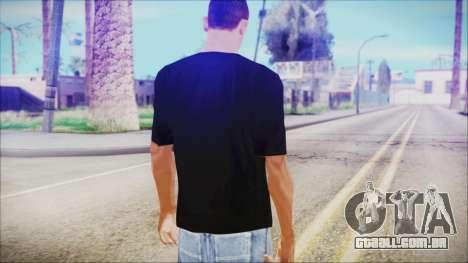 T-Shirt Cane Christmas para GTA San Andreas terceira tela