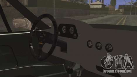 Ferrari F40 Gas Monkey para GTA San Andreas vista direita