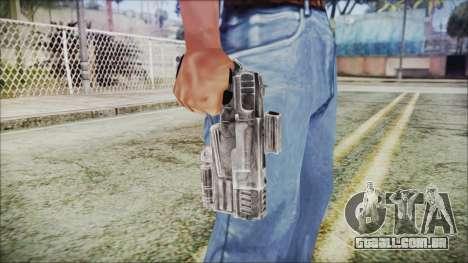 Fallout 4 Heavy 10mm Pistol para GTA San Andreas terceira tela