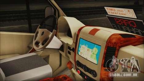 Mercedes-Benz Sprinter 26 M 0009 para GTA San Andreas vista direita
