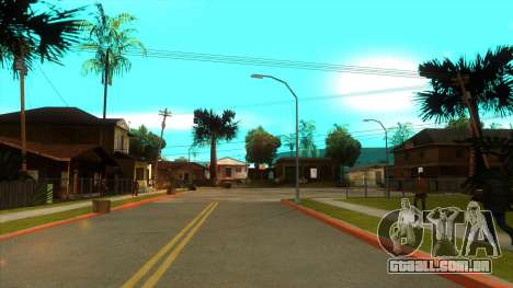 ENB Settings Janeair 1.0 Light para GTA San Andreas quinto tela