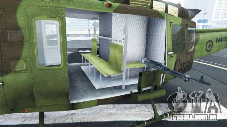 GTA 5 Bell UH-1D Huey Royal Canadian Air Force sexta imagem de tela