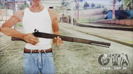 GTA 5 Musket v3 - Misterix 4 Weapons para GTA San Andreas terceira tela