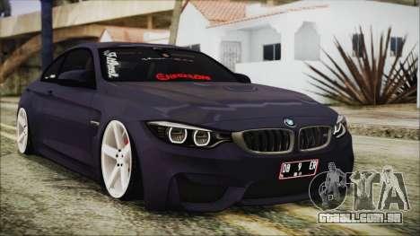 BMW M4 Stance 2014 para GTA San Andreas