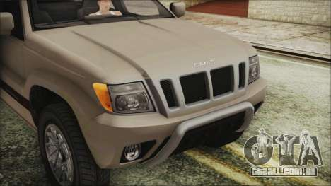 GTA 5 Canis Seminole IVF para GTA San Andreas vista traseira