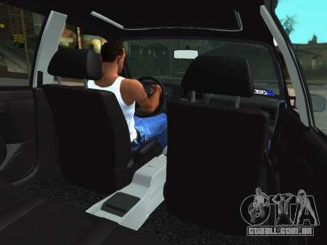 Volkswagen Passat B3 Variant para GTA San Andreas vista traseira