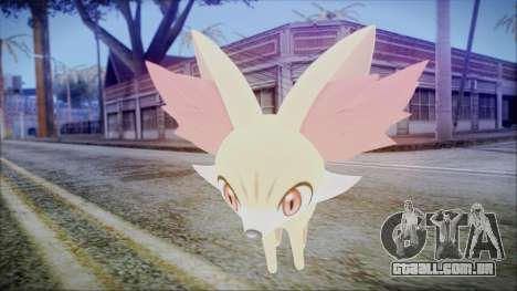 Fennekin (Pokemon XY) para GTA San Andreas terceira tela