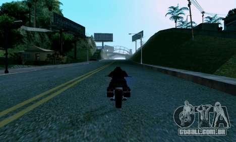 uM ENB para PC fraco para GTA San Andreas quinto tela