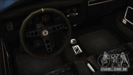 GTA 5 Declasse Mamba para GTA San Andreas vista traseira