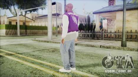 GTA 5 Ballas 3 para GTA San Andreas terceira tela