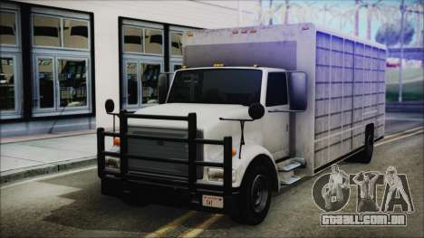 Indonesian Benson Truck In Real Life Version para GTA San Andreas