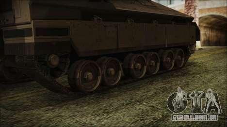 IFV-6C Panther Tracked IFV para GTA San Andreas traseira esquerda vista