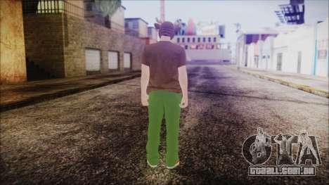 GTA Online Skin 11 para GTA San Andreas terceira tela