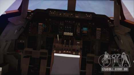 Boeing 747-237Bs Air India Emperor Ashoka para GTA San Andreas vista direita