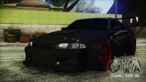 Nissan Skyline R33 Widebody v2.0 para GTA San Andreas