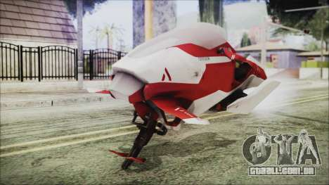 Syndicate Flying Motorcycle para GTA San Andreas