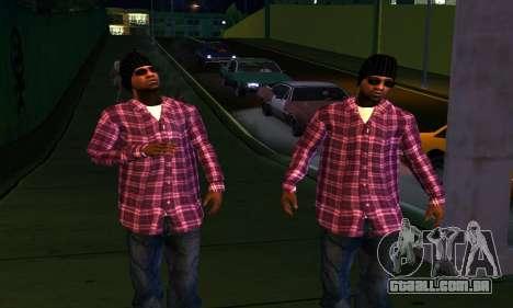 Mens Mega Pack para GTA San Andreas oitavo tela