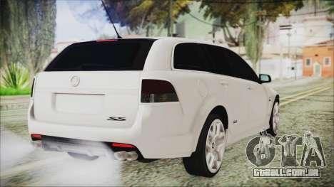 Holden Commodore VE Sportwagon 2012 para GTA San Andreas esquerda vista