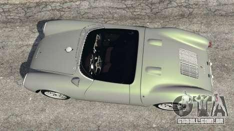 GTA 5 Porsche 550A Spyder 1956 voltar vista