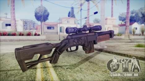 Fallout 4 Overseers Guardian para GTA San Andreas segunda tela