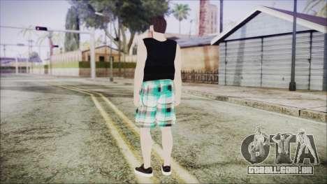 GTA Online Skin 39 para GTA San Andreas terceira tela