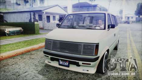 GTA 5 Declasse Moonbeam Custom IVF para GTA San Andreas
