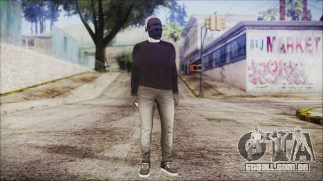 GTA Online Skin 53 para GTA San Andreas segunda tela