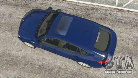 GTA 5 BMW X6 M (E71) v1.5 voltar vista