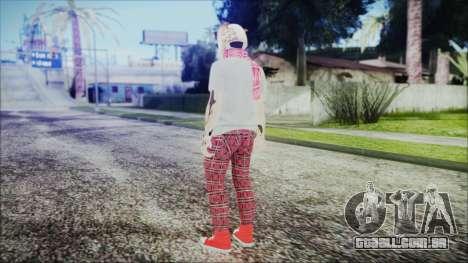GTA Online Skin 54 para GTA San Andreas terceira tela
