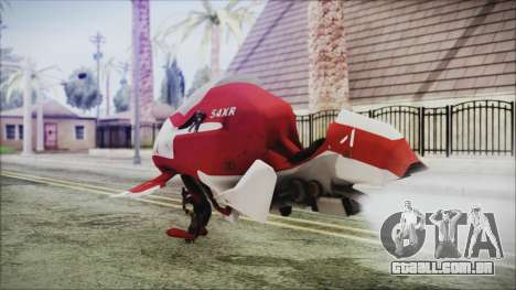 Syndicate Flying Motorcycle para GTA San Andreas esquerda vista
