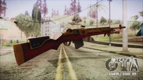 Xmas M14 para GTA San Andreas segunda tela