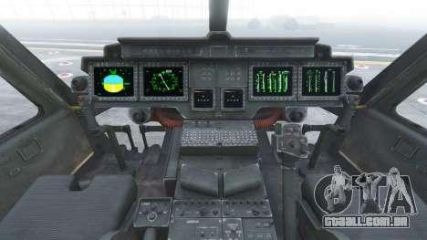 GTA 5 Bell UH-1Y Venom v1.1 quinta imagem de tela