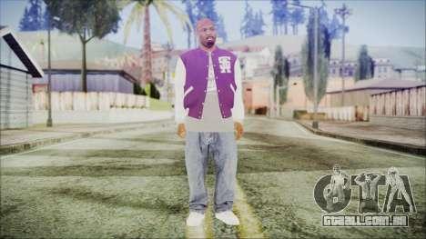 GTA 5 Ballas 3 para GTA San Andreas segunda tela