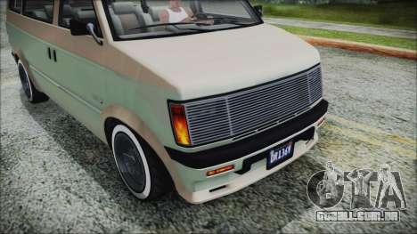 GTA 5 Declasse Moonbeam Custom IVF para GTA San Andreas vista direita