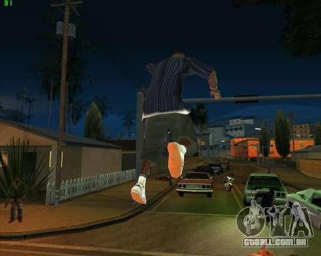 Insanidade, no estado de San Andreas v1.0 para GTA San Andreas nono tela