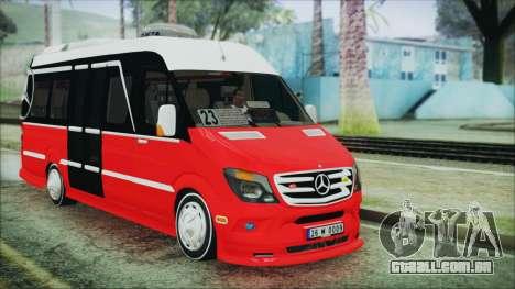 Mercedes-Benz Sprinter 26 M 0009 para GTA San Andreas