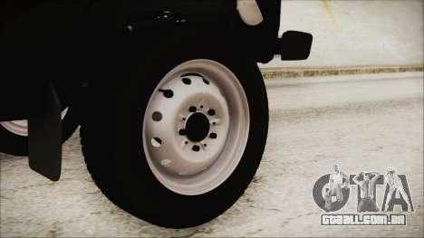 VAZ 2121 Niva 1600 2.0 para GTA San Andreas traseira esquerda vista