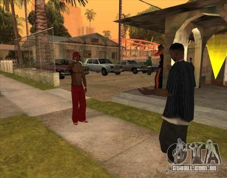 Bratki no bar para GTA San Andreas