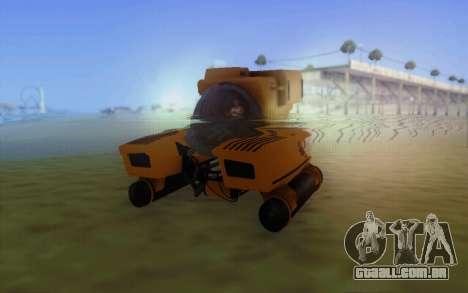 GTA 5 Kraken v1 para GTA San Andreas esquerda vista