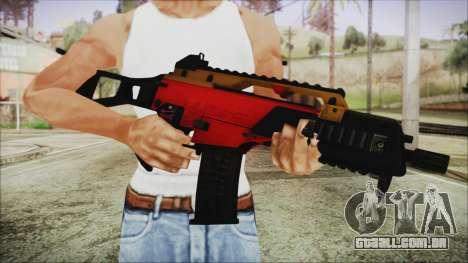 Xmas G36C para GTA San Andreas terceira tela