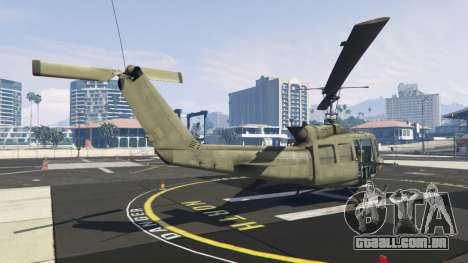 GTA 5 Bell UH-1D Iroquois Huey terceiro screenshot