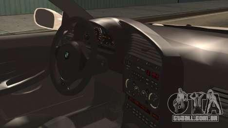 BMW M3 E36 Frozen para GTA San Andreas vista direita