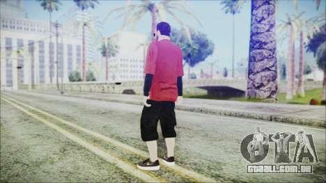 GTA Online Skin 27 para GTA San Andreas terceira tela