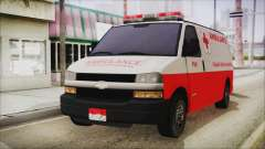 Indonesian PMI Ambulance