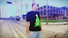 T-Shirt Christmas Tree para GTA San Andreas