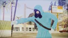 GTA 5 Online The Heist Gasmask Dark