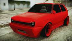 Volkswagen Golf 2 Ghetto Cult para GTA San Andreas